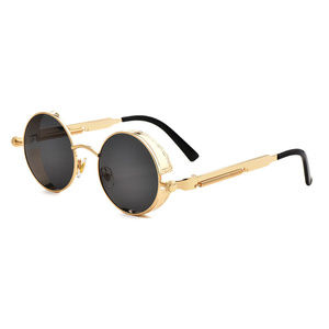 Other - Gothic Steampunk Sunglasses Round Transparent